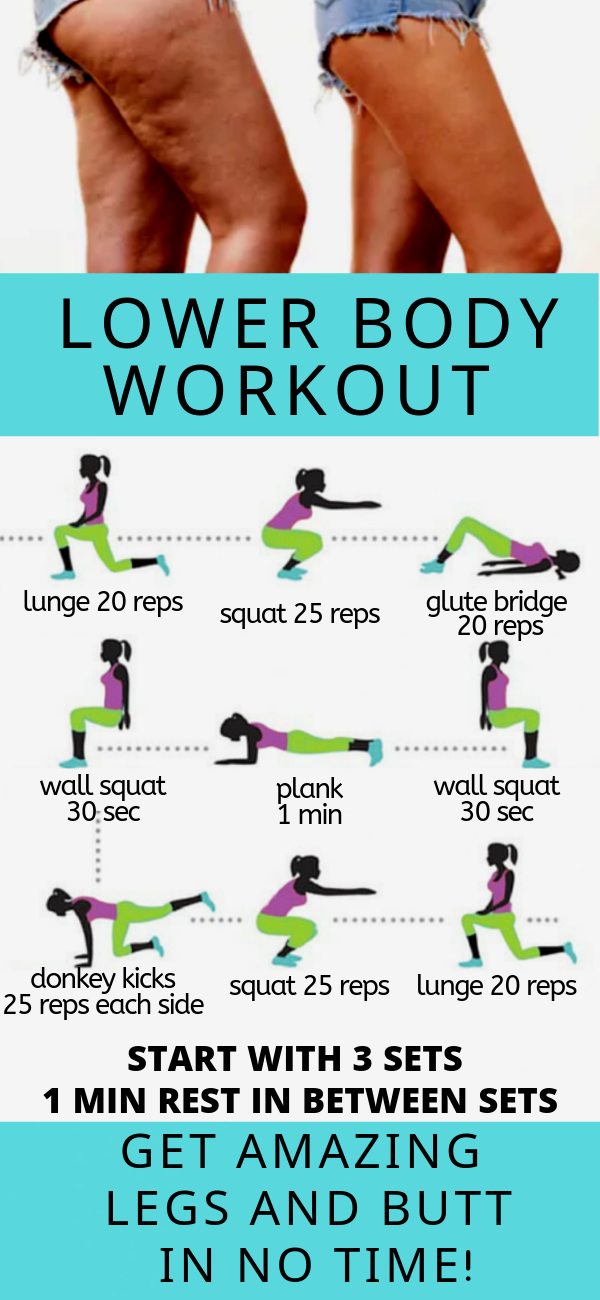 Lower Body Workout At Home #body #equipment #fitness #home