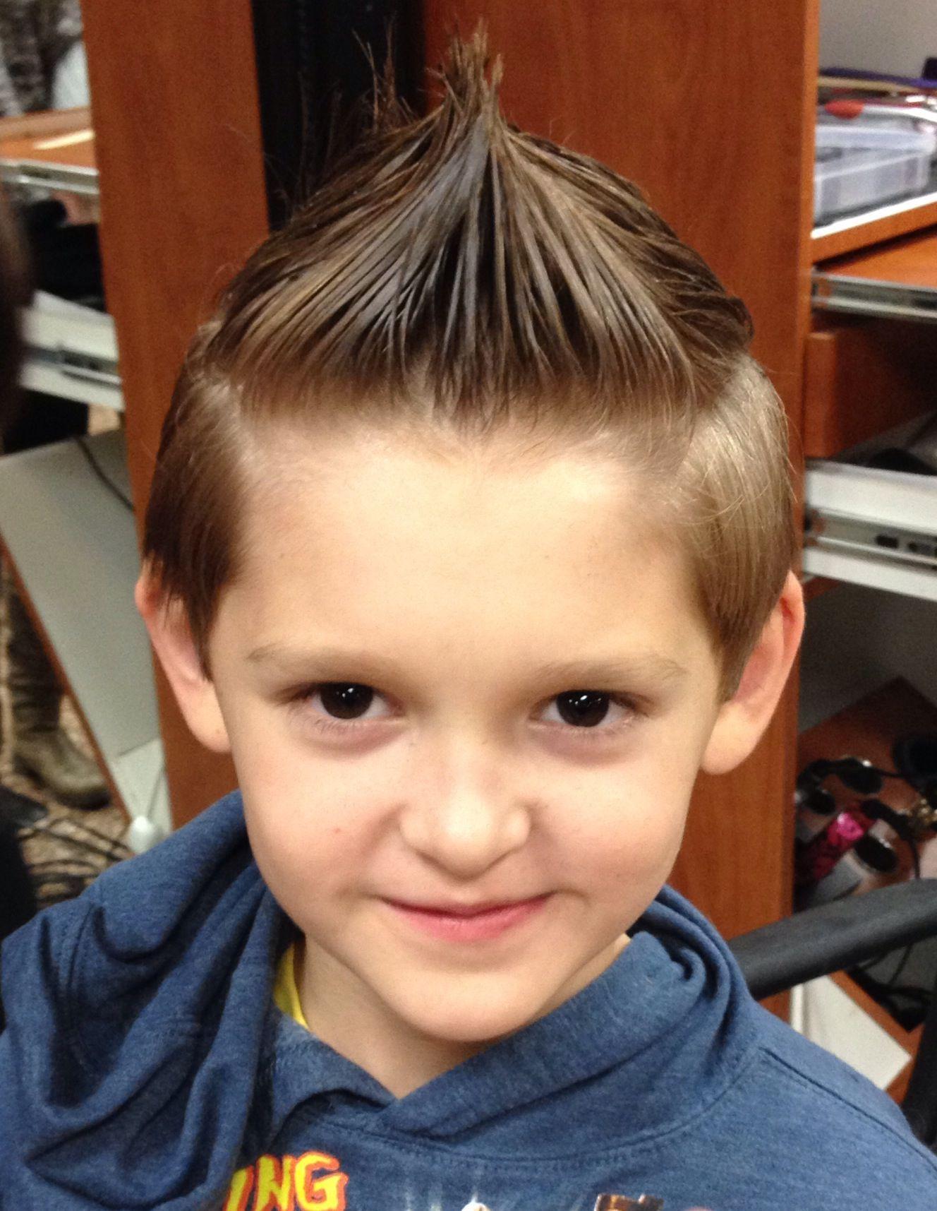 Compromise mohawk hair for boys pinterest mohawks