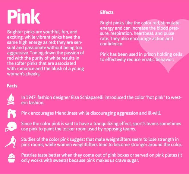 The Psychology Of Pink