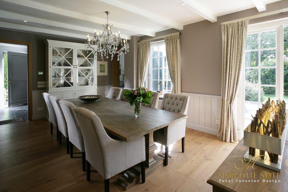 Marcotte style interieur ontwerper landelijke villa for Interieur ontwerper