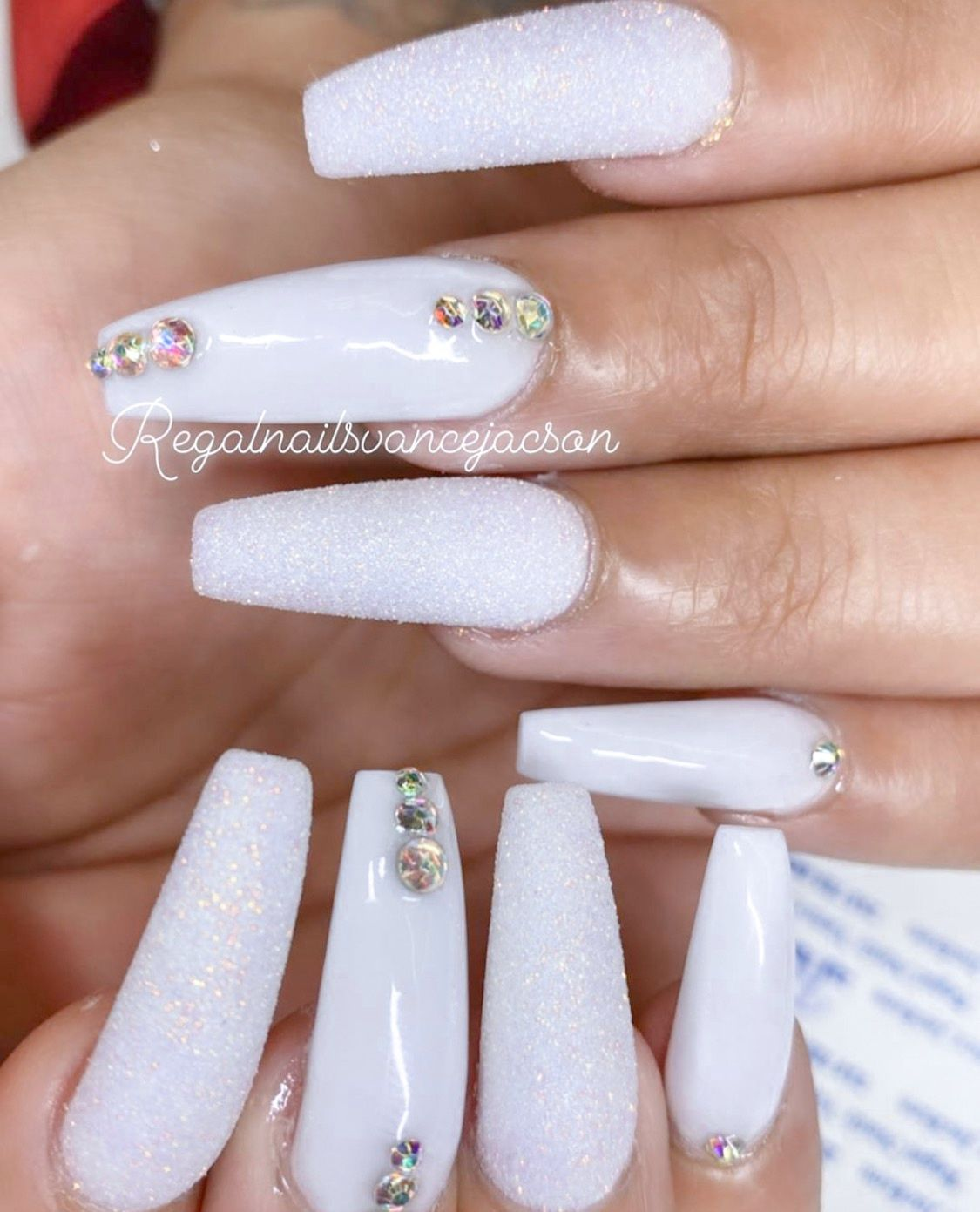 Pin by miranda 🧿🌱 on nails in 2020 | Long acrylic nails