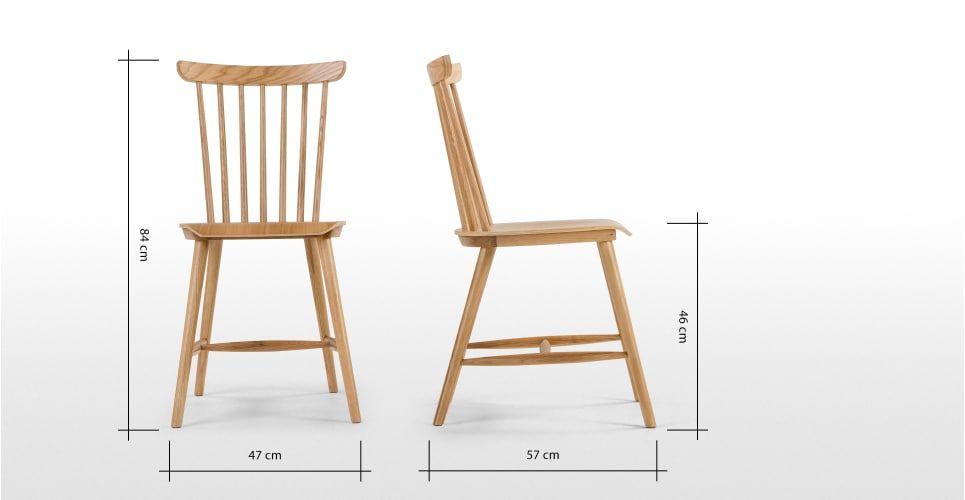 2 X Deauville Esszimmerstuhle Eiche Oak Chair Oak Dining Chairs Chair