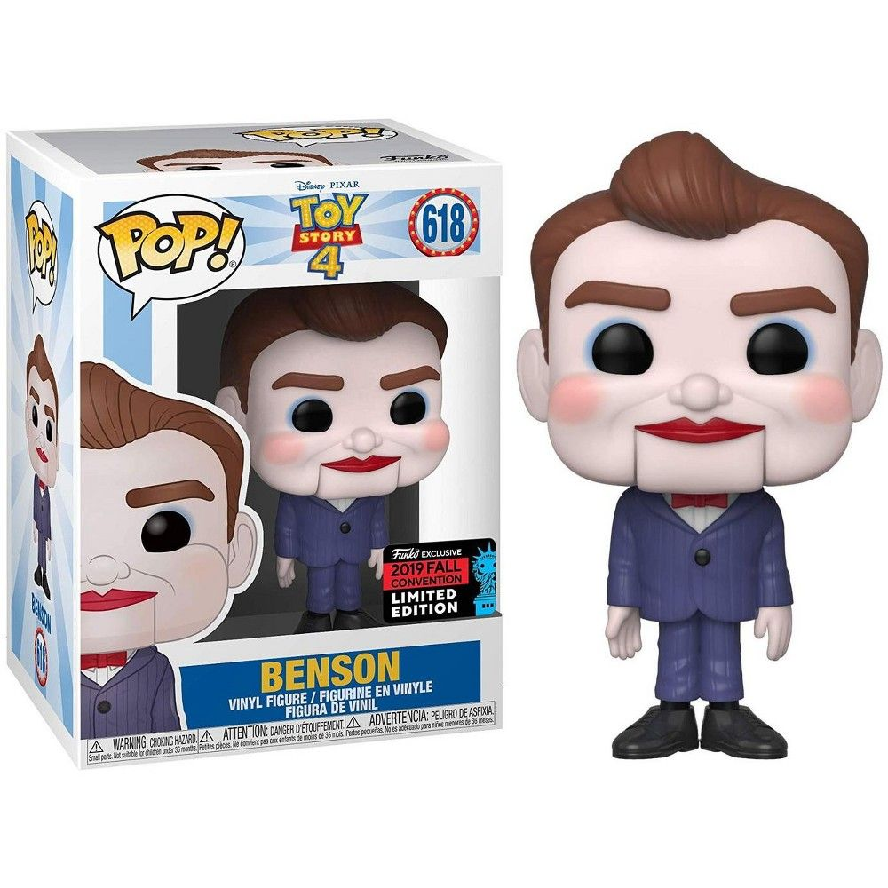 Disney Pixar Toy Story 4 Funko Pop Disney Benson Vinyl Figure