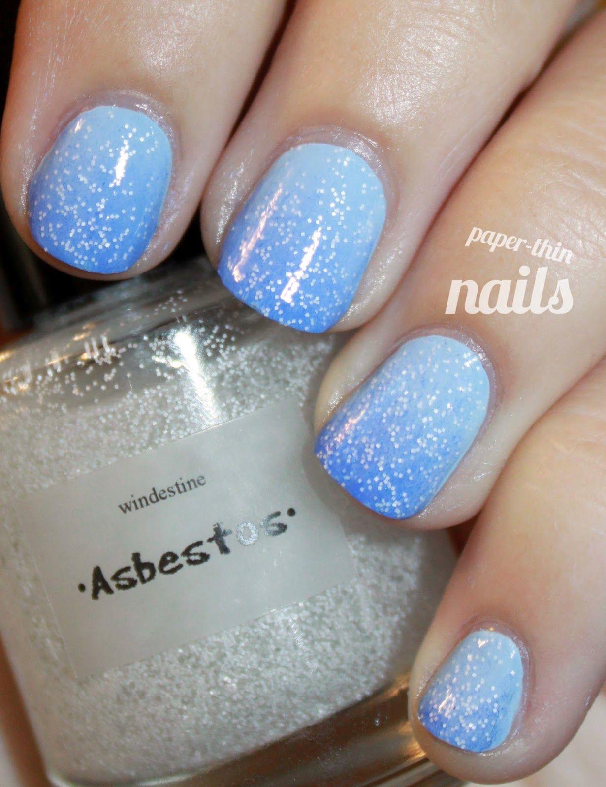 paper thin nails: Ombré Hombre   Nail Art   Pinterest   Thin nails ...