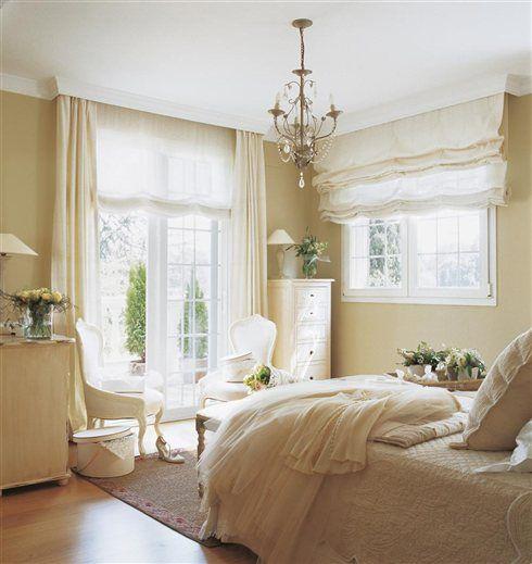 Dise o en color crema awesome interiors pinterest - Dormitorios colores claros ...