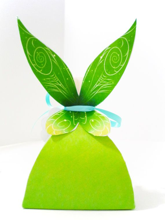 1c7fdcc17 Tinkerbell Pixie Printable Party Treat Box | Tikimbell | Cumpleaños ...
