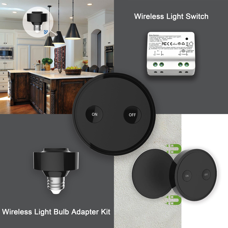 smart touch light rf remote wifi uk vhome switch pin home screen eu control