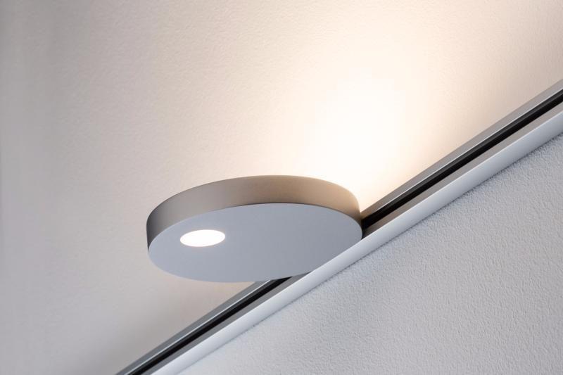 eclairage tableau eclairage sur rail plafond led spot uplight salto 16w paulmann luminaires