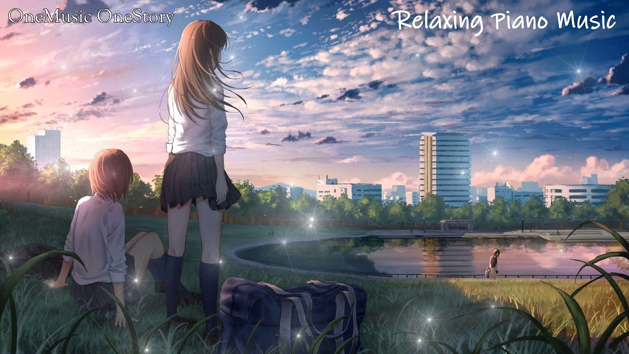 Relaxing Piano Music 1 Hour For Soothing Relaxation Peace Bgm Work S Anime Scenery Beautiful Scenery Wallpaper Scenery Wallpaper