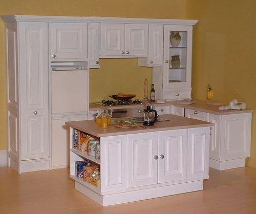 225 Best The Miniature Kitchen Images On Pinterest: White Miniature Kitchen