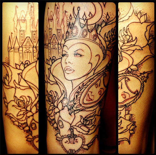 101 Mandala Tattoo Designs For Girls To Feel Alive: Best 25+ Disney Thigh Tattoo Ideas On Pinterest
