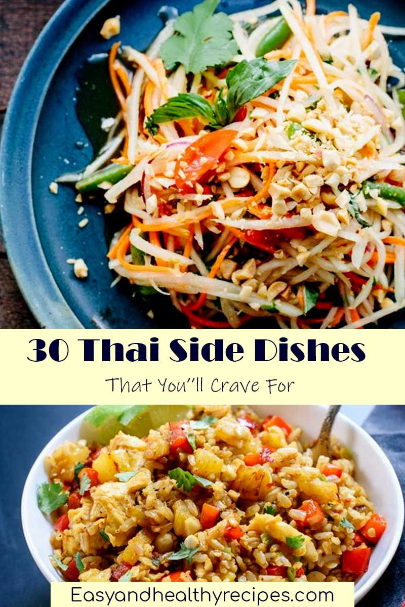 30 thai side dishes to vary meals healthy recipes