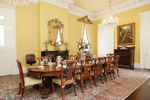 Nottoway Plantation Dining Room