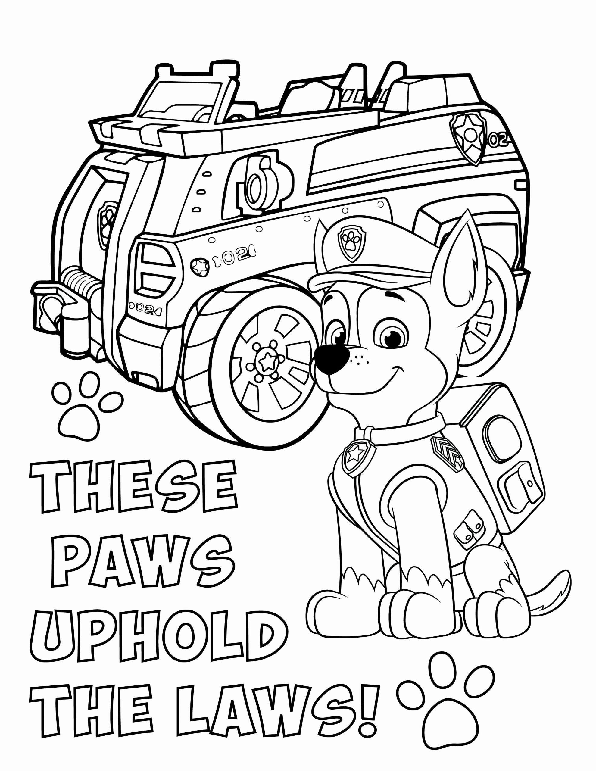 Pin By Oranit Ruankum On Desenhos Paw Patrol Coloring Pages Paw Patrol Coloring Chase Paw Patrol