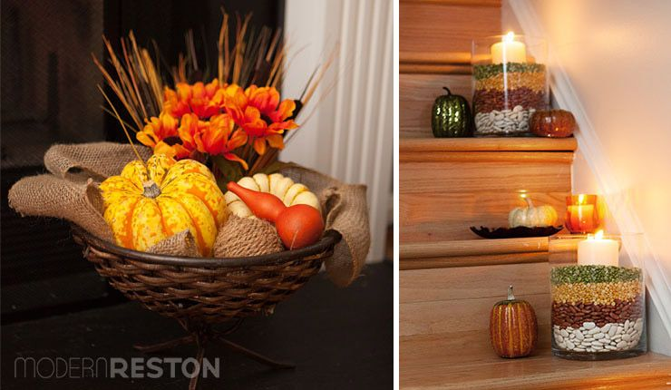 fall decorating for the home - Fall Decorations