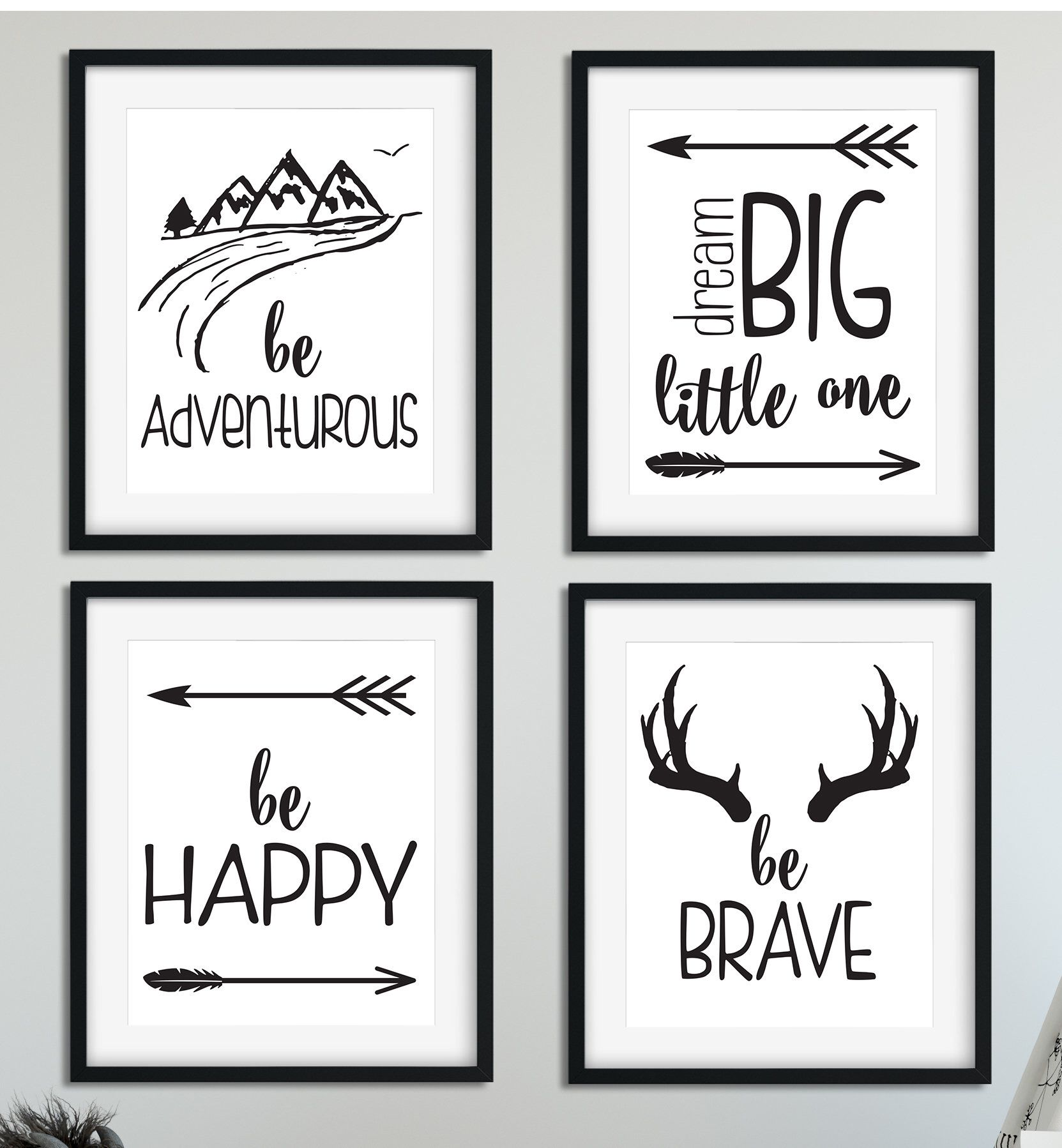 "1 Where the Wild Things Are Baby Shower or Birthday Party Favor 8X11/"" Wall Print"