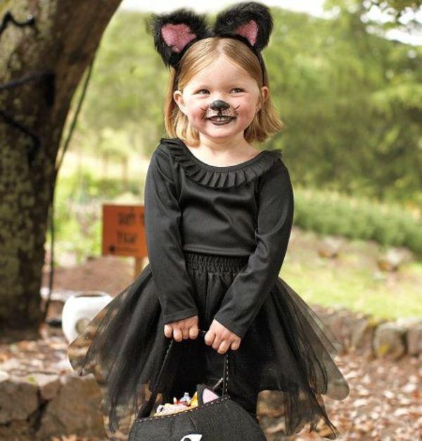 halloween kost me f r kinder eine katze costume for the little pinterest kost m kinder. Black Bedroom Furniture Sets. Home Design Ideas