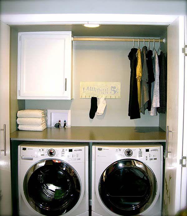 60 Amazingly Inspiring Small Laundry Room Design Ideas Laundry Room Storage Small Laundry Space Laundry Room Remodel Best small laundry room decorating