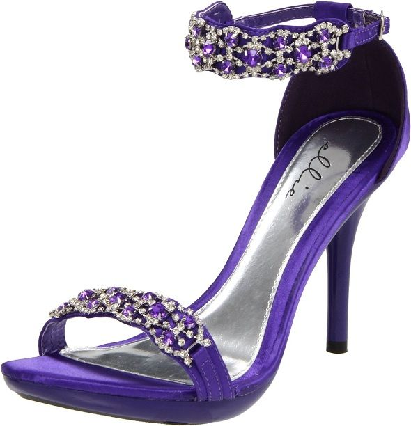 purple women's formal shoes | purple women's special occasion prom ...