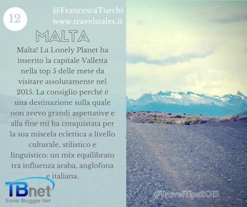 Francesca Turchi è Malta Google+ TravelTips2015
