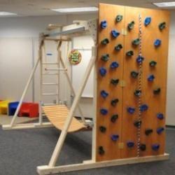 In my dream basement autism parents pinterest for Basement jungle gym