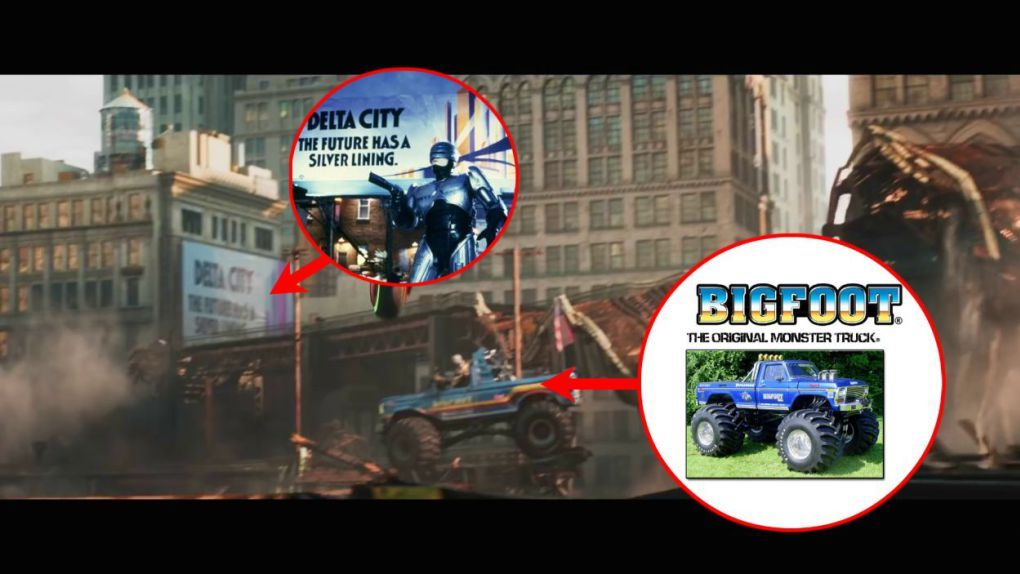 from the movie ready player one bigfoot king of the monsters