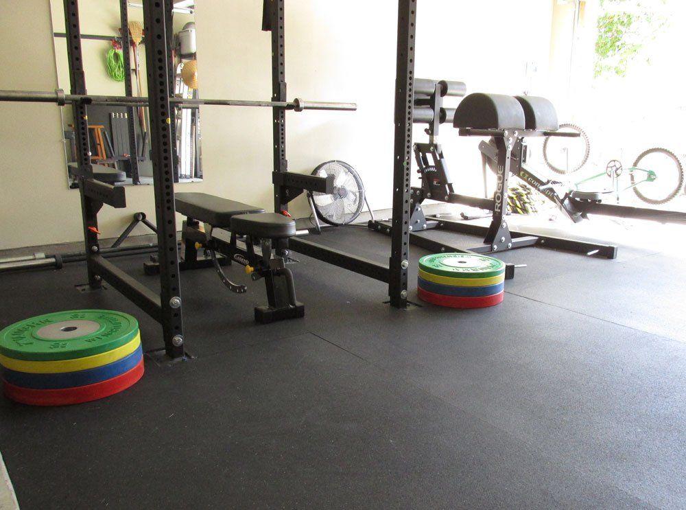 ideas cool x grezu and gym floor mats plans home garage rubber flooring floors