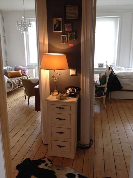 Gemtlichster Flur Mit Blick In Schlaf Und Wohnzimmer Hamburg Winterhude Wohnung