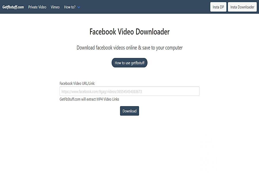 أفضل 10 مواقع لتحميل الفيديوهات من الفيسبوك بدون برامج In 2020 Facebook Video Best Facebook Video Online
