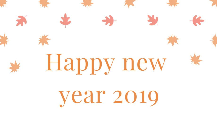 Happy New Year 2019 HD Wallpapers 3D For Desktop  Happy New