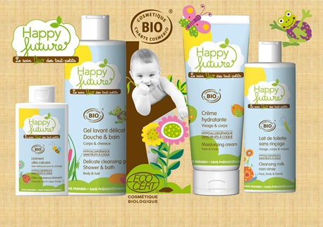 Happy Future Organic Skin Care Products Made In France Giveaway Natural Baby Skin Care Baby Skin Care Natural Baby