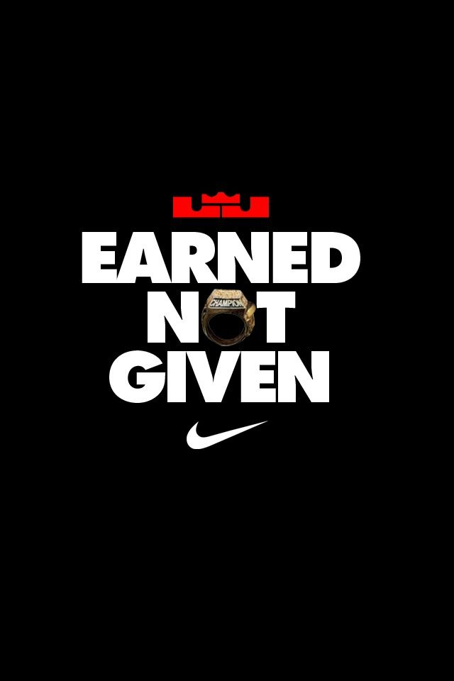 LEBRON Earned It Itwasnt Given To Him