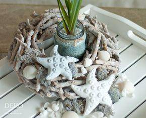 diy sommer deko mit seesternen aus salzteig deko kitchen fr hling ostern salzteig. Black Bedroom Furniture Sets. Home Design Ideas