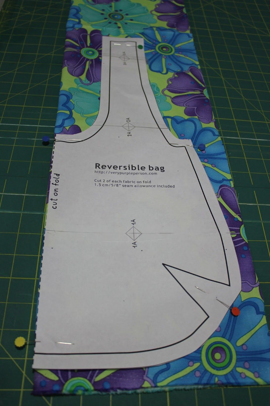 Reversible Bag Tutorial featuring Ticklish by Me &