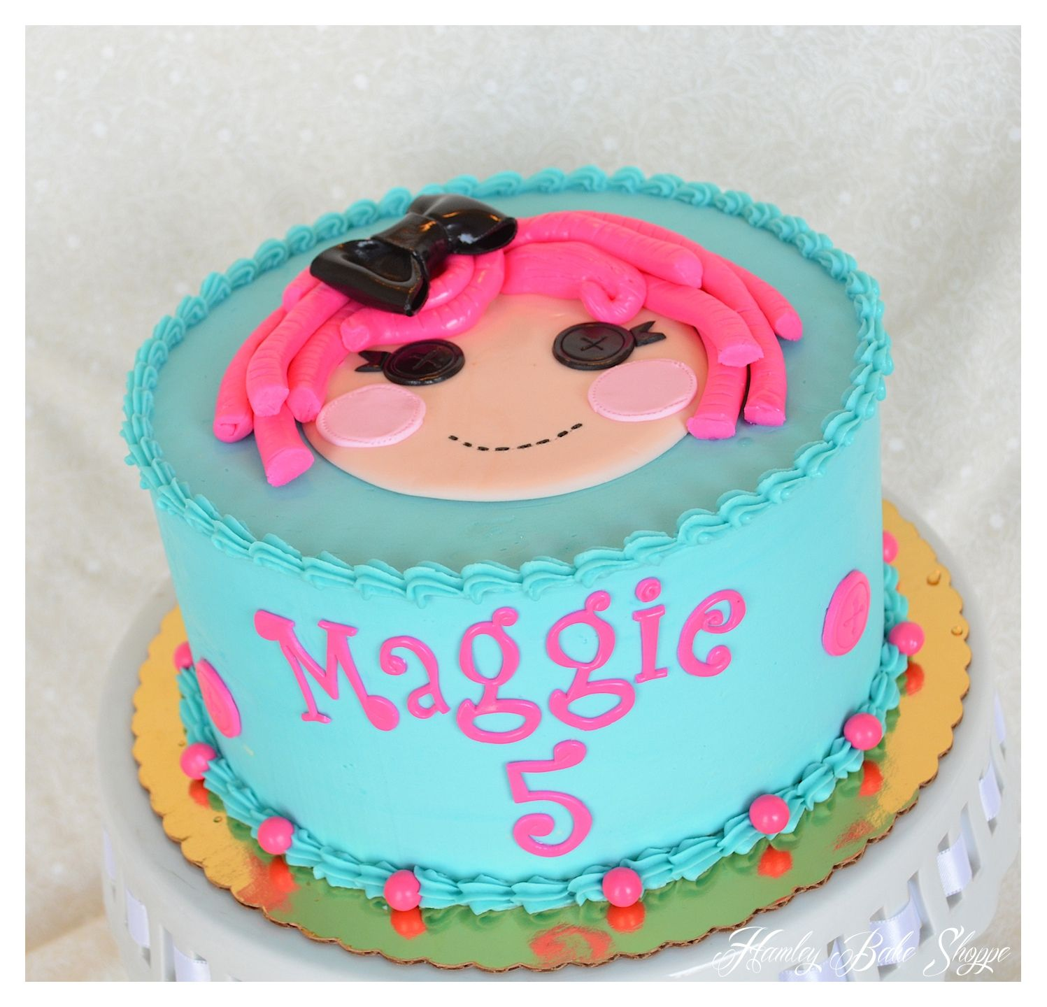 Lalaloopsy Cake -- Except Make It Jewel Sparkles And She