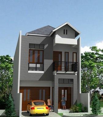 Desain Rumah Minimalis Modern Type 45 2 Lantai Rumah Minimalis