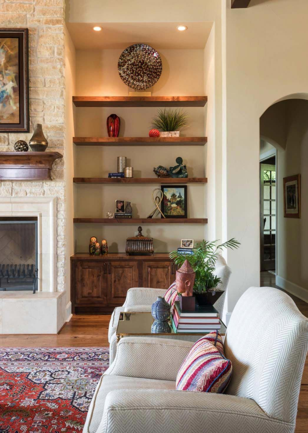 Spanish Colonial Meets Traditional In A Beautifully Styled Texas
