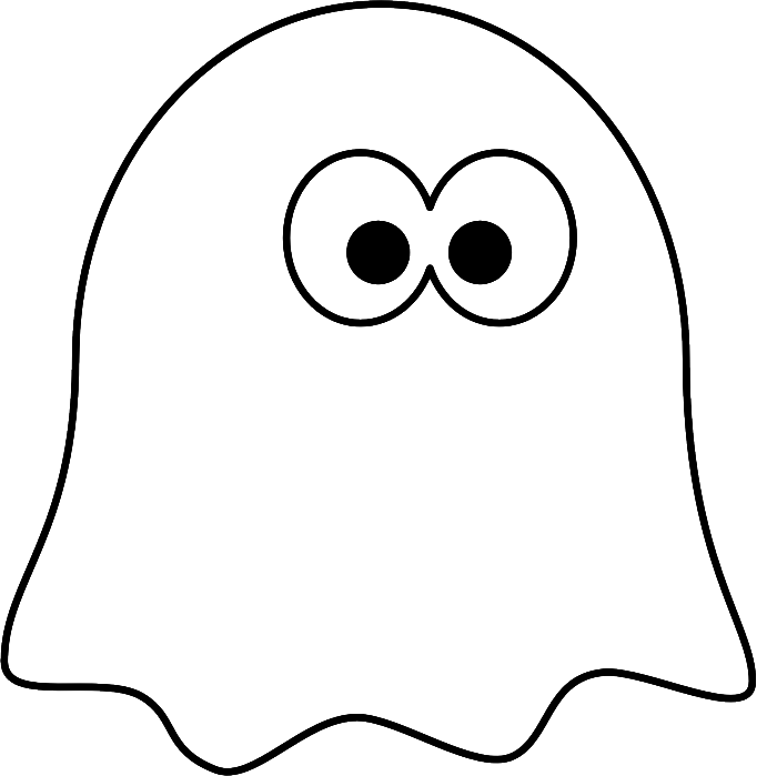 coloring pages on ghosts reading - photo#12