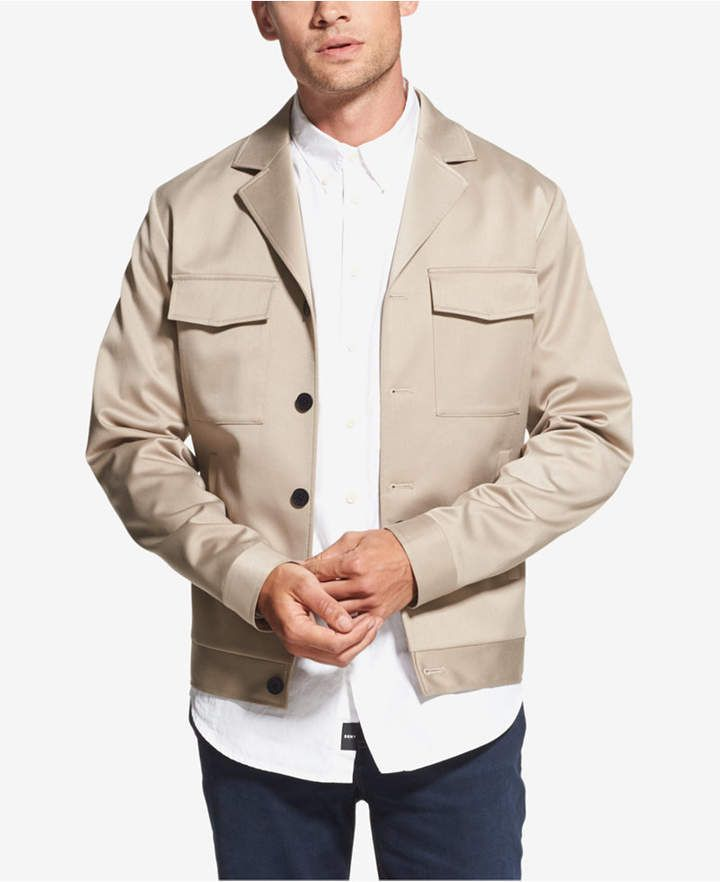 567125db DKNY Men's Classic-Fit Stretch Notched-Lapel Jacket   Products ...