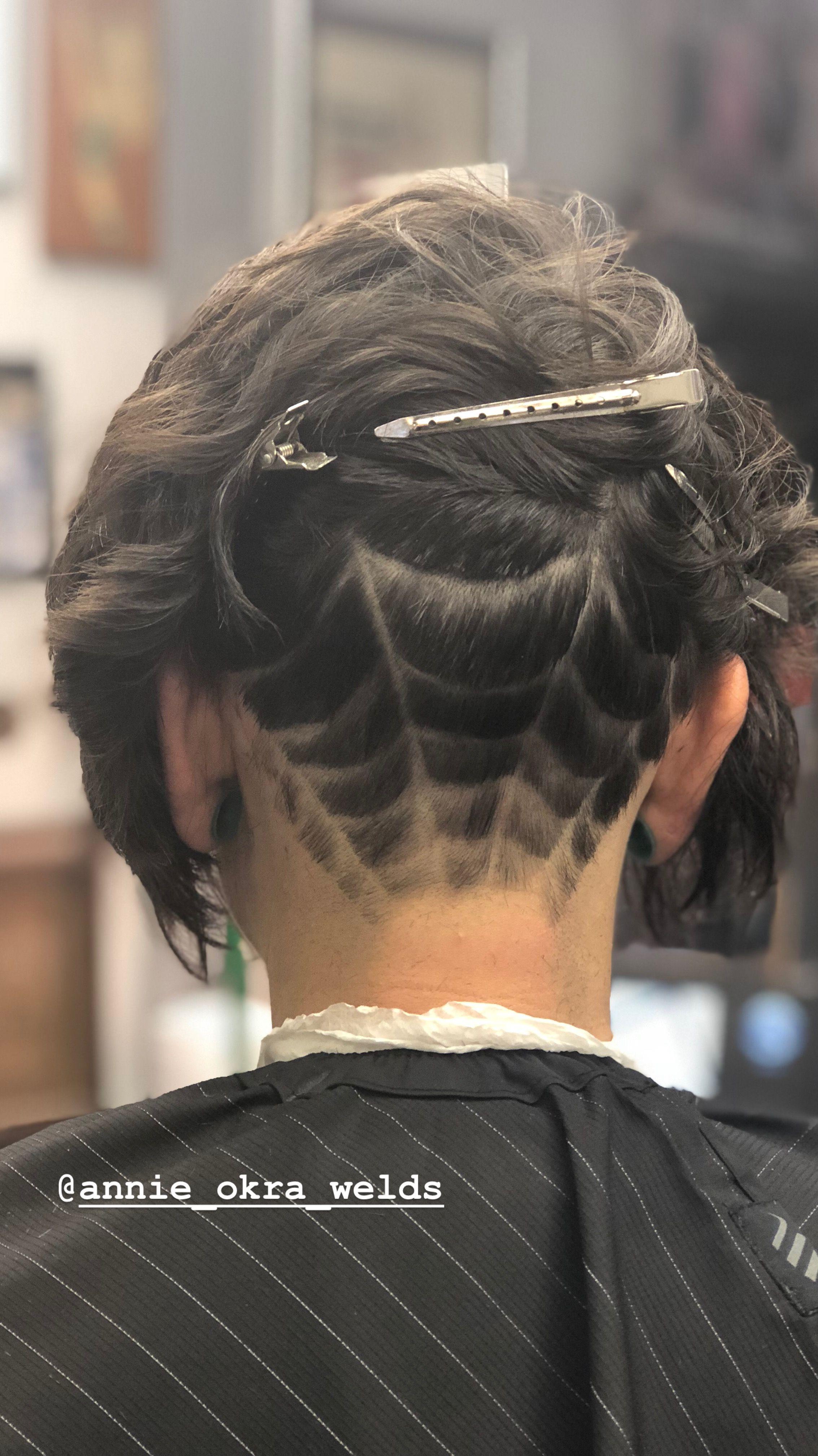 Spiderwebbed Hair Hair Styles Beauty