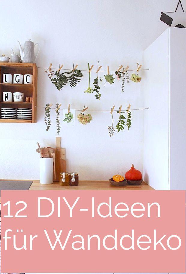 DIYnstag: 12 Kreativ Ideen Für Selbst Gemachte Wanddeko