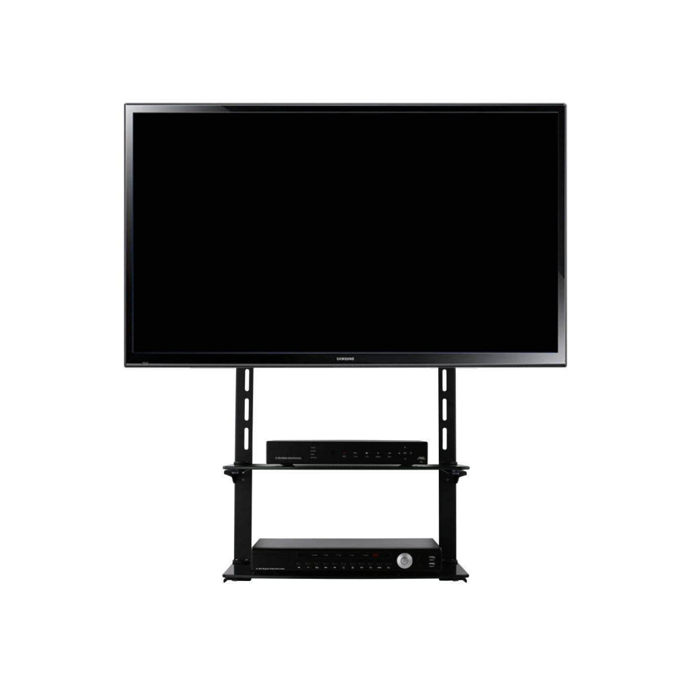 Mount It Low Profile Flat Panel Tv Mount And Entertainment Center