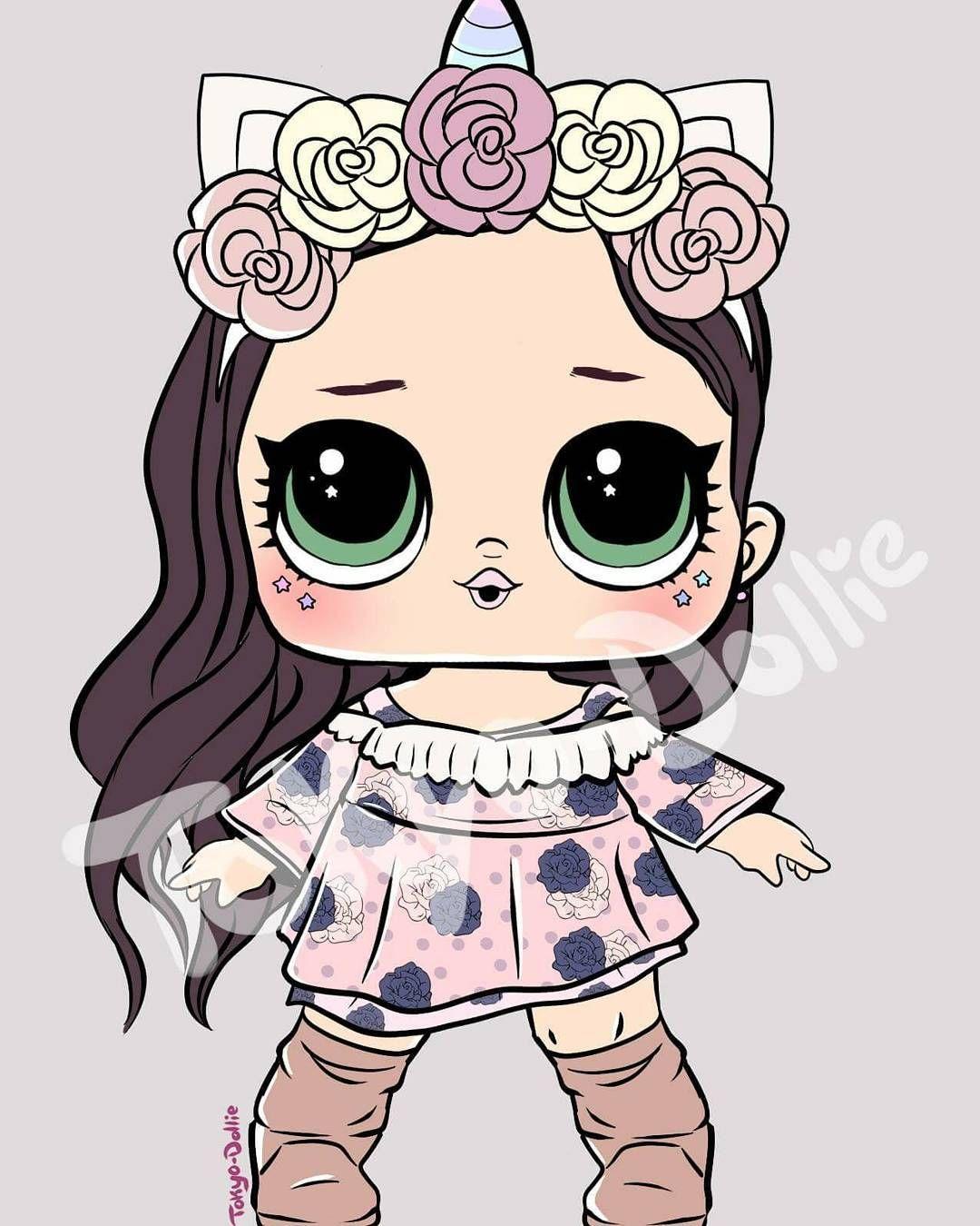 Hermosa Unicornio Con Imagenes Dibujos Kawaii Munecas Lol