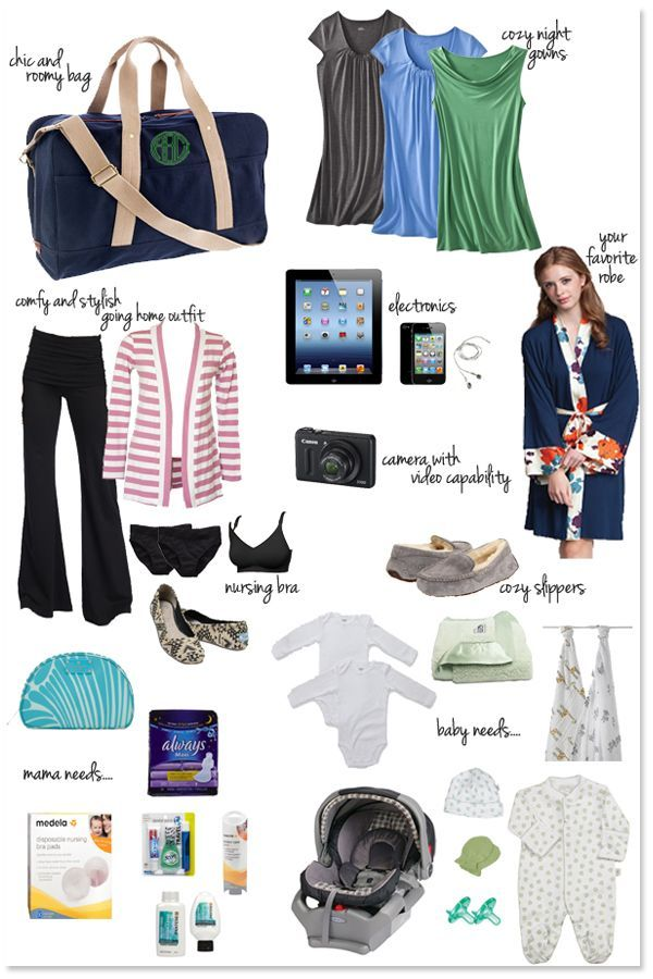 Ultimate Guide to Packing Your Hospital Bag for CSection | Bags ...