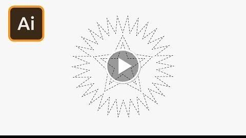 How To Create Star Shapes In Illustrator Httpvideotutorials411