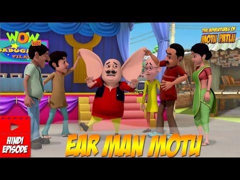 Ear Man Motu - Motu Patlu in Hindi | DH videos song | Voice
