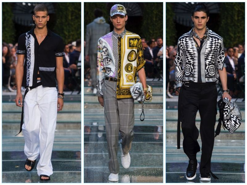 3cf07f0074 Versace Spring/Summer 2018 Men's Collection — The Fashionisto | Ivan ...