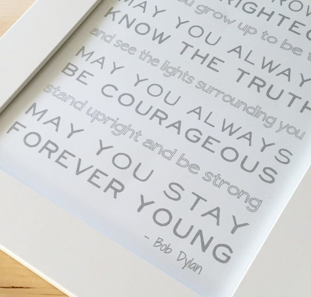 Forever Young Lyrics - Free Printable | Forever young ...