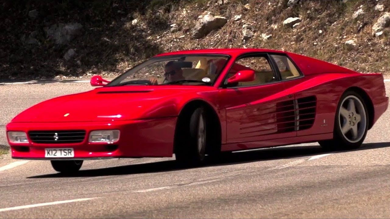 The 1992 Ferrari 512 Testarossa A Drive Film Ferrari Ferrari Testarossa Repair Manuals