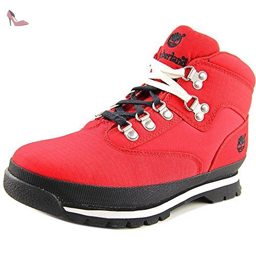 timberland euro hiker rouge